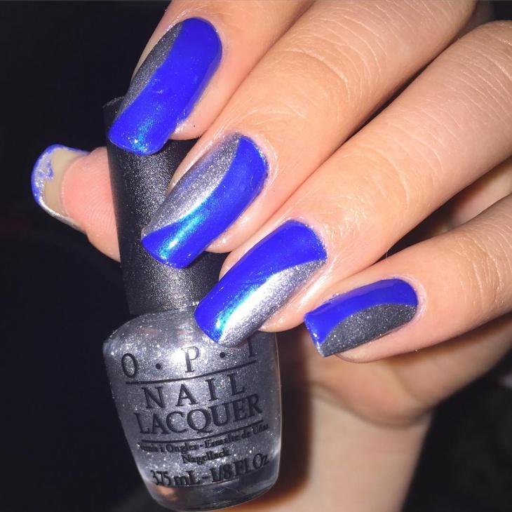 half moon acrylic nails