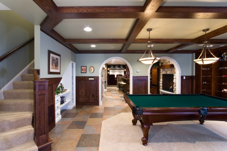 17 Basement Flooring Designs Ideas Design Trends