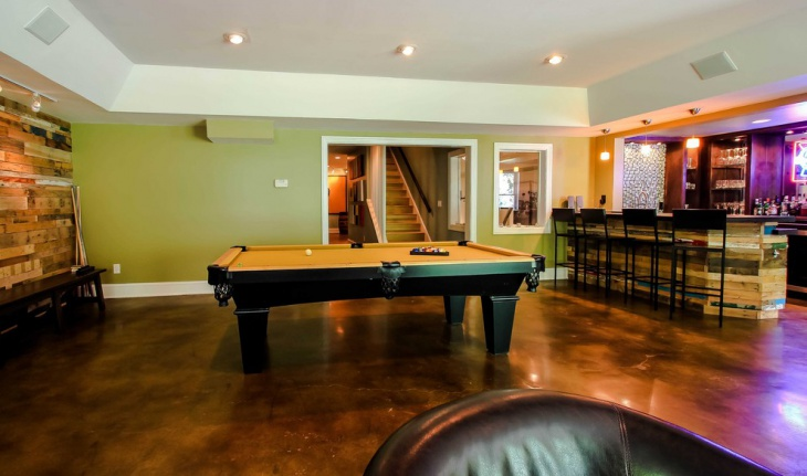 basement renovation flooring idea