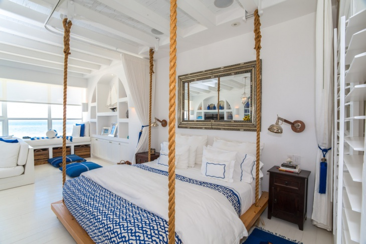 nautical hanging bed