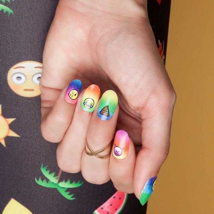 21+ Emoji Nail Art Designs, Ideas | Design Trends - Premium PSD ...