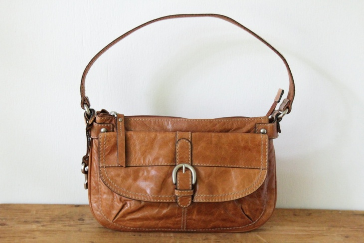 canvas hobo handbag
