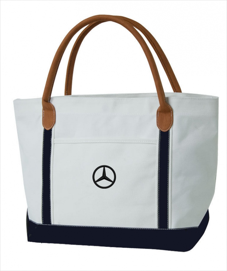 nautical canvas handbag
