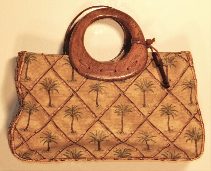 vintage canvas handbag design