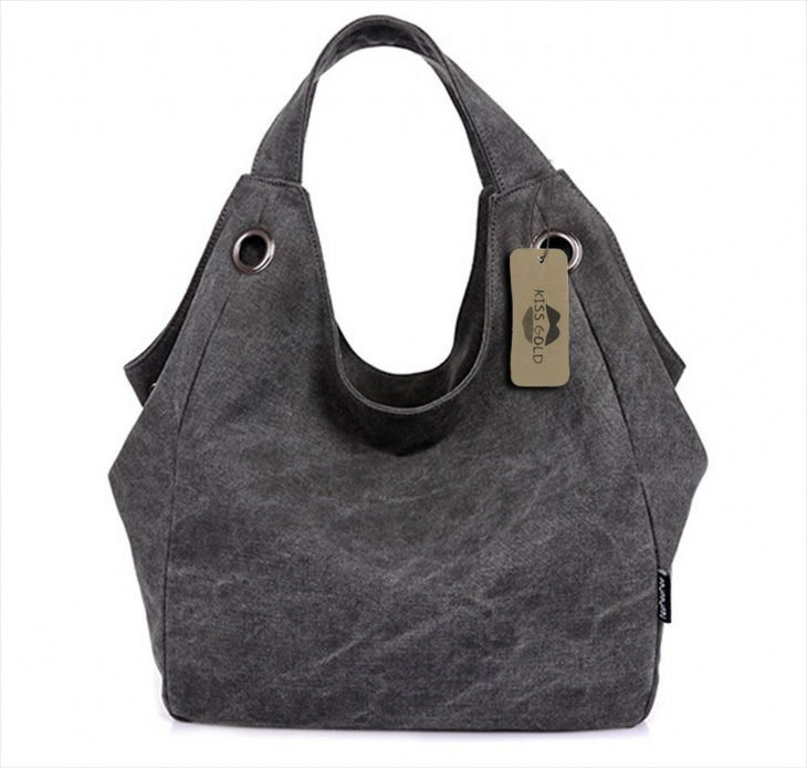 simple canvas handbag