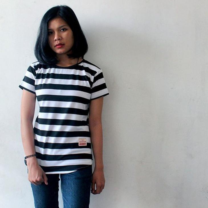 retro striped t shirt design