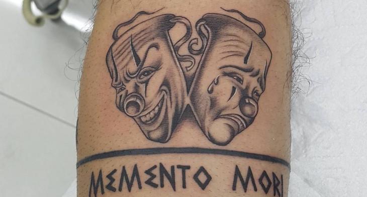 21 mask tattoo designs ideas design trends premium psd vector rh designtrends com theater mask tattoo theater mask tattoo designs