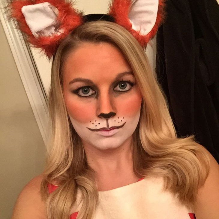 fox face makeup idea
