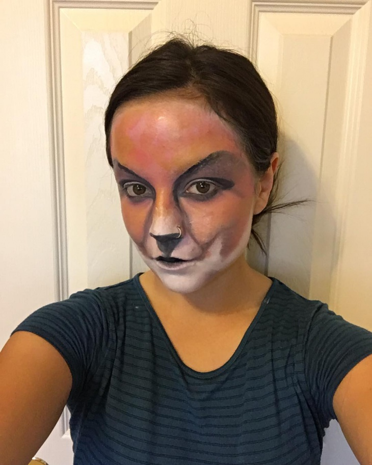 lady fox makeup design