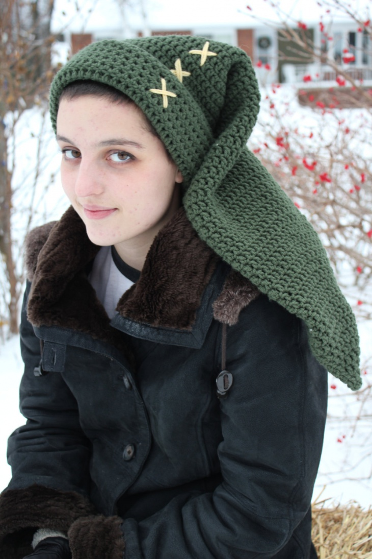 Crochet Zelda Hat