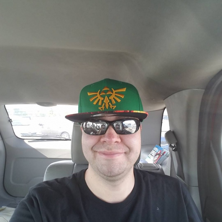 Zelda Flat Bill Hat
