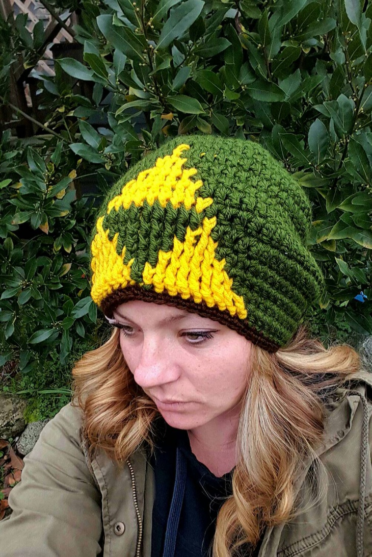 Zelda Green Winter Hat