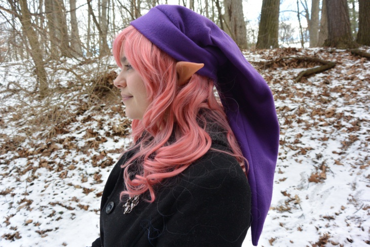 Purple Zelda Hat Idea