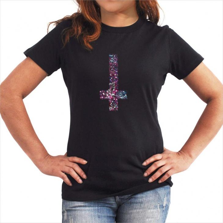 galaxy cross t shirt