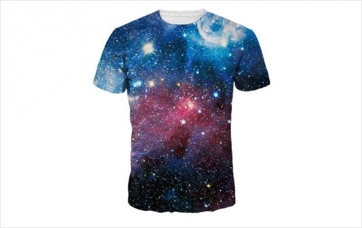 galaxy stars t shirt