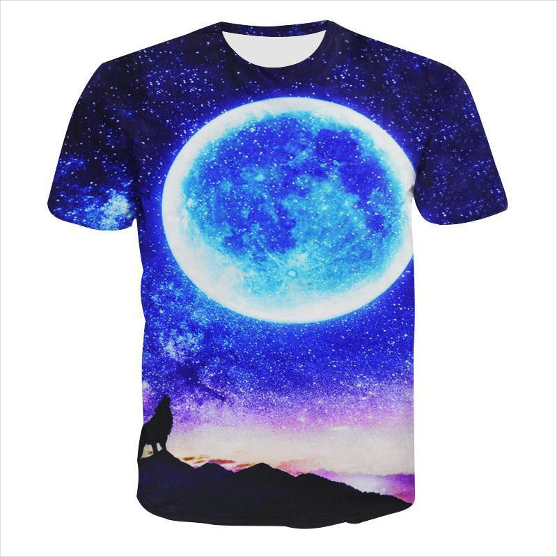galaxy moon t shirt idea