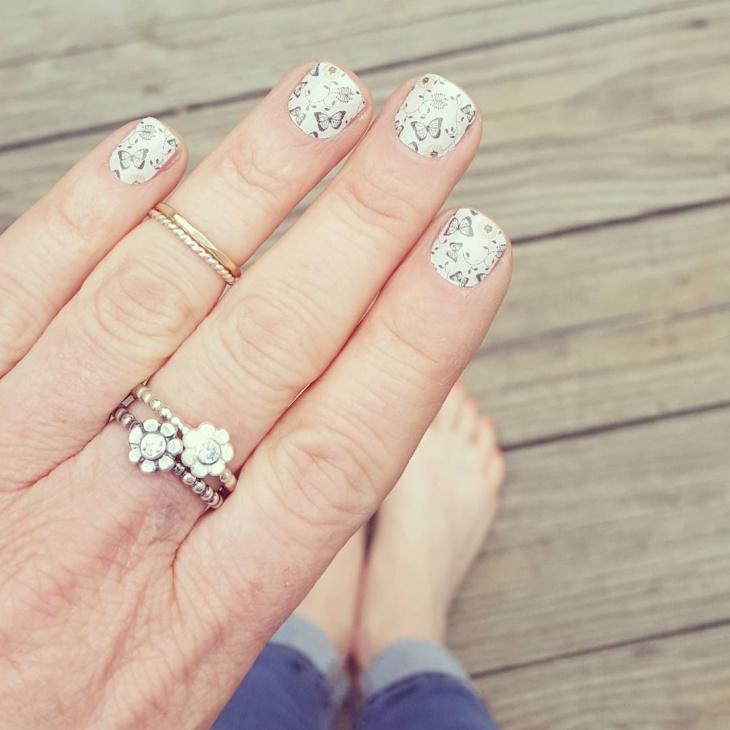 double daisy ring