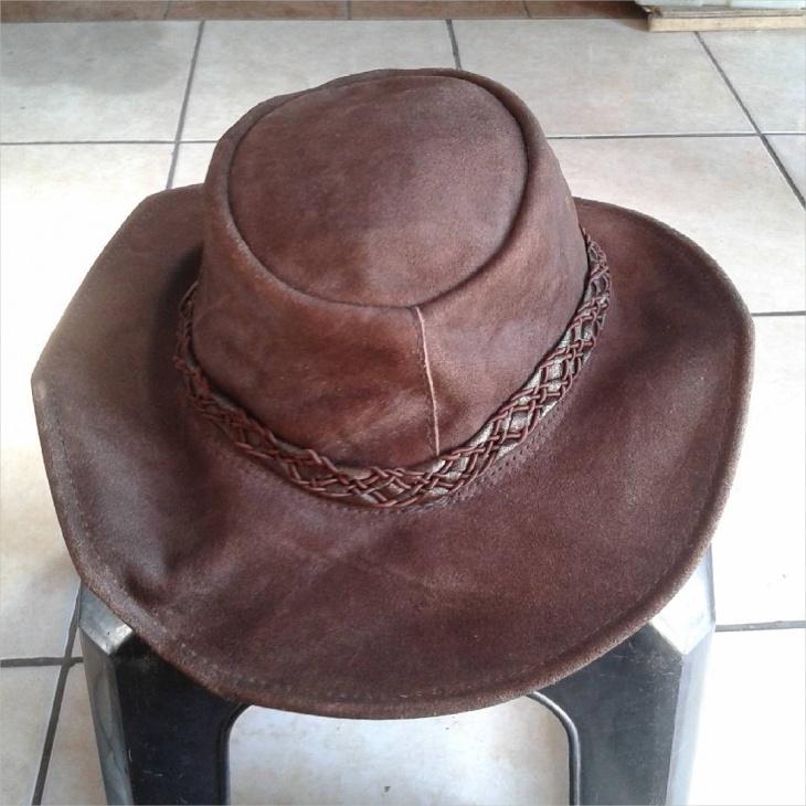 Hippie Leather Hat