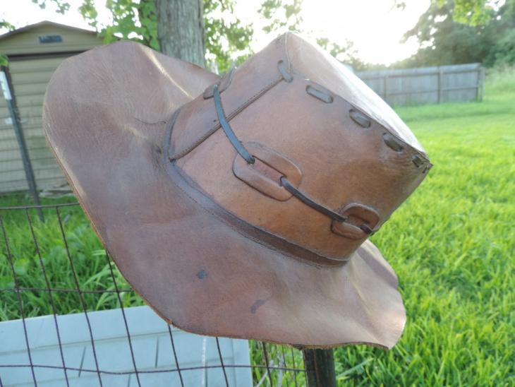 Hippie Leather Hat Design