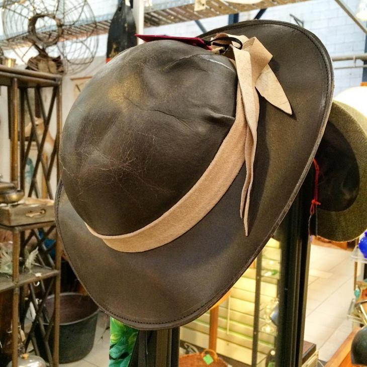 Retro Leather Hat