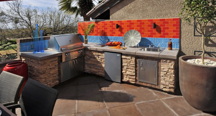 Outdoor Kitchen With Tile Countertop Ideas Html on kitchen floor tile ideas, outdoor bar on-deck ideas, tile countertops for bar top ideas, outdoor bar countertop ideas, diy outdoor kitchen ideas, mexican tile outdoor patio ideas, outdoor bar top ideas, small outdoor kitchen ideas, kitchen tile backsplash ideas,