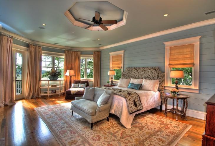 cottage master bedroom idea