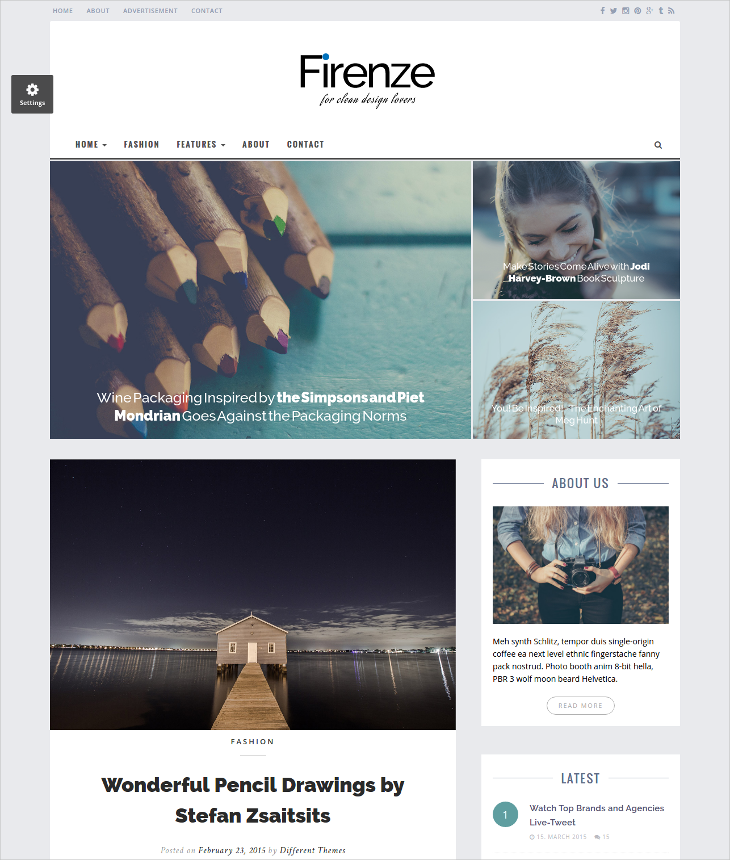 12 blog html5 themes and templates design trends premium psd responsive html5 blog template maxwellsz
