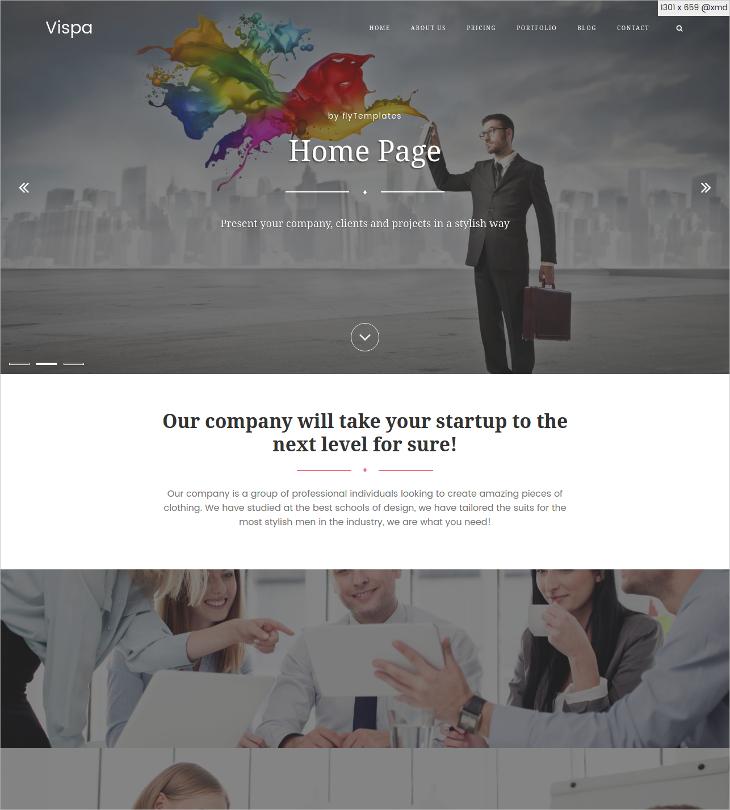 modern blog html template