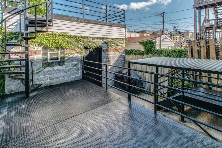 rooftop metal deck idea