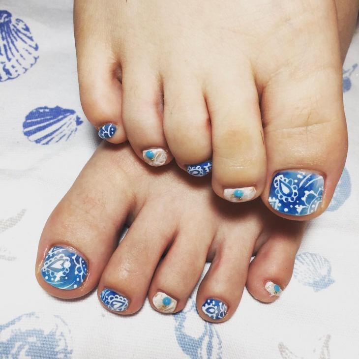 Cute toe nail design for summer : Cute nail art designs ideas design trends premium psd vector downloads