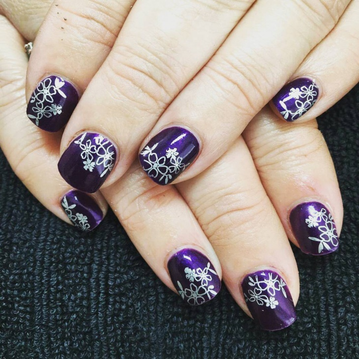 short square nail design1