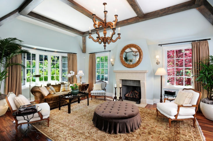 Decorative French Country Living Room