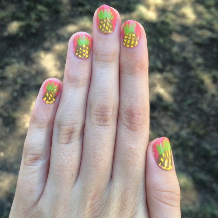 summer holiday nail design1