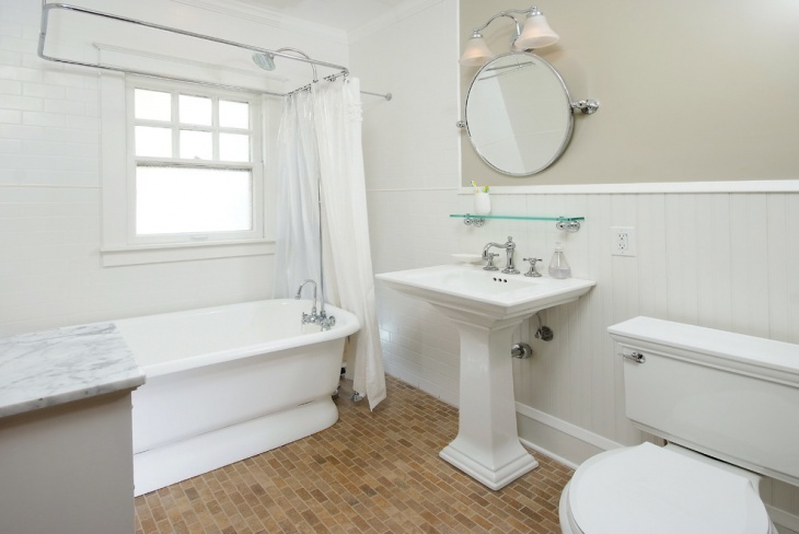 Small Victorian Bathroom Idea