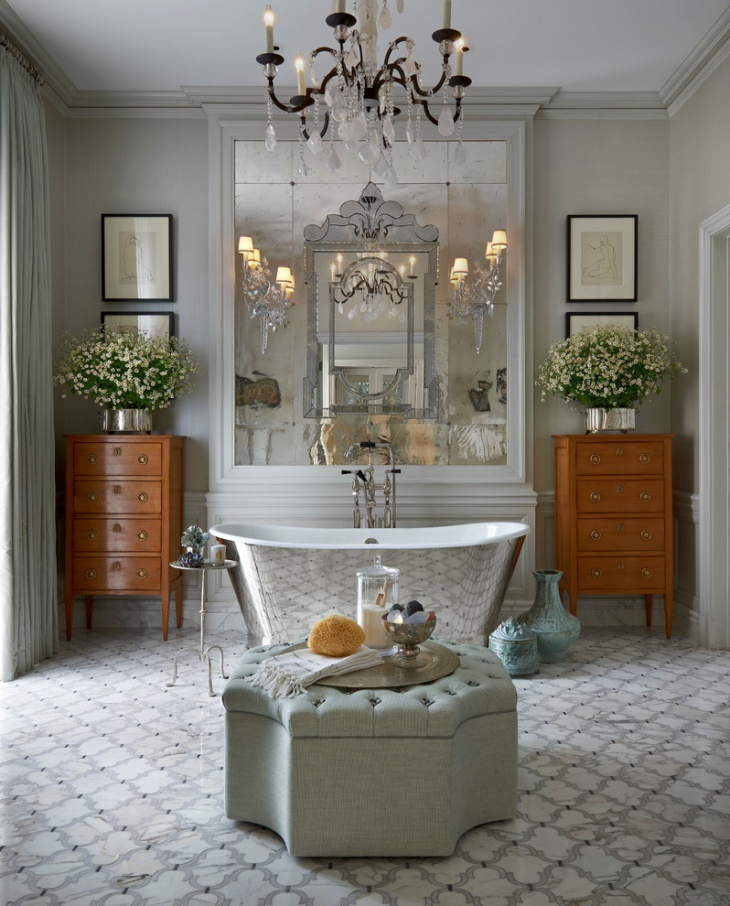 French Country Bathroom Flooring: 17+ Victorian Bathroom Designs, Decorating Ideas