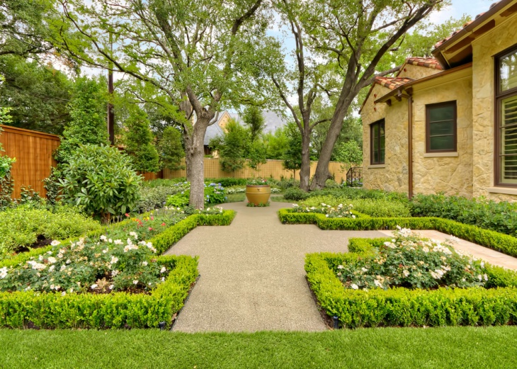 Garden Design Dallas fascinating Private Square Garden Design