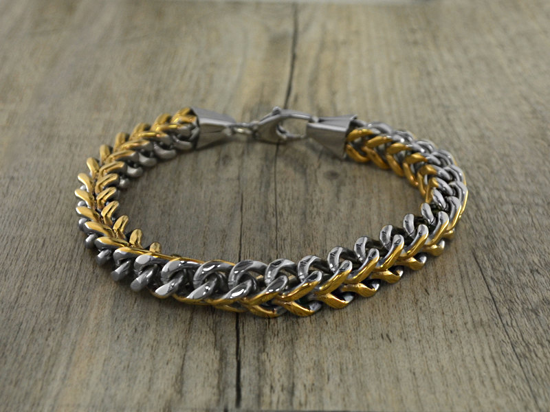 twisted metal bracelet