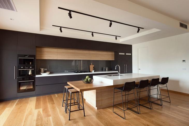 modern farmhouse kitchen island