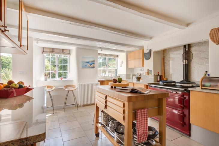 modern freestanding kitchen island
