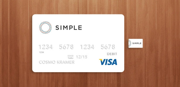 Simple Credit Card Mockup
