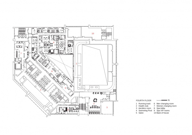 h fourth floor plan