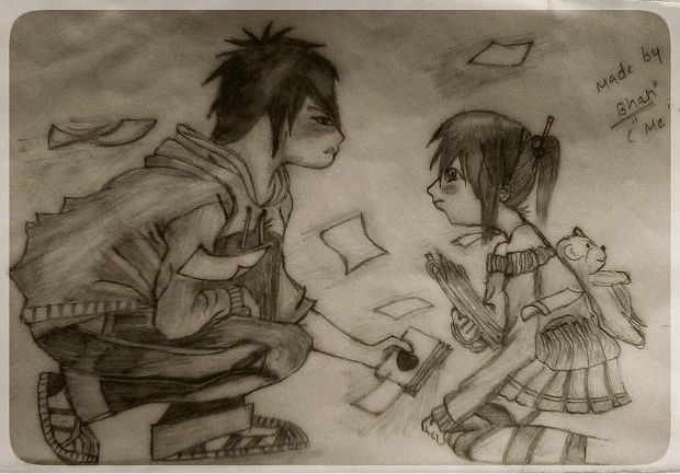 love couple drawing
