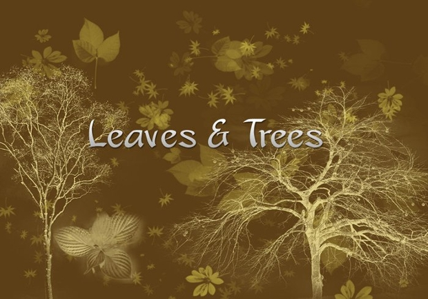 Tree Leaves Brushes