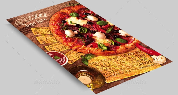 Restaurant Pizza Flyer