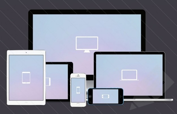 responsive screen mockup design