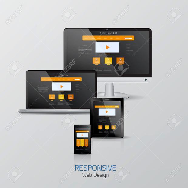 Responsive Web Mockup