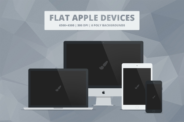 responsive apple web mockup