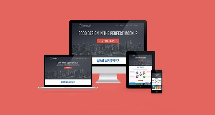 20 Responsive Mockups Editable Psd Ai Vector Eps Design Trends Premium Psd Vector Downloads