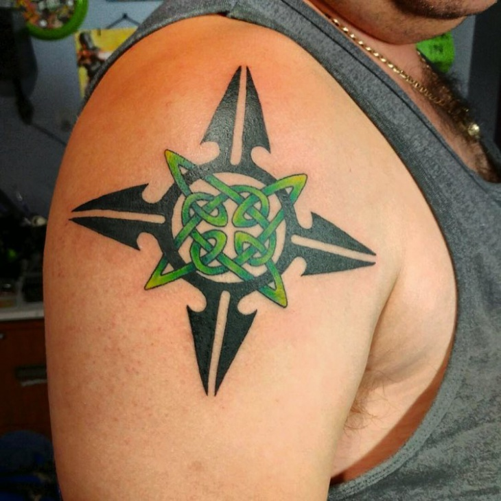 Celtic Tribal Tattoo Design