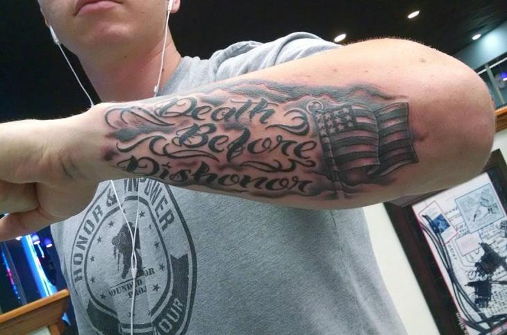forearm tattoo design for men